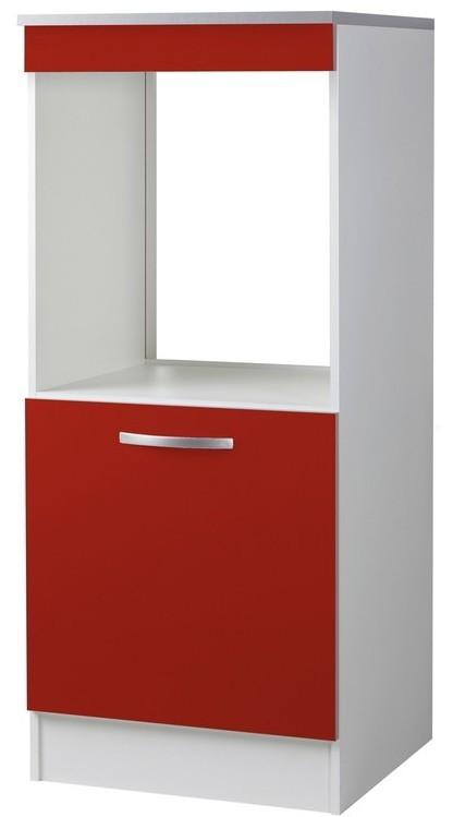 demi colonne de cuisine four 1 porte rouge viva. Black Bedroom Furniture Sets. Home Design Ideas