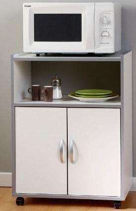 desserte de cuisine blanche easy bak. Black Bedroom Furniture Sets. Home Design Ideas