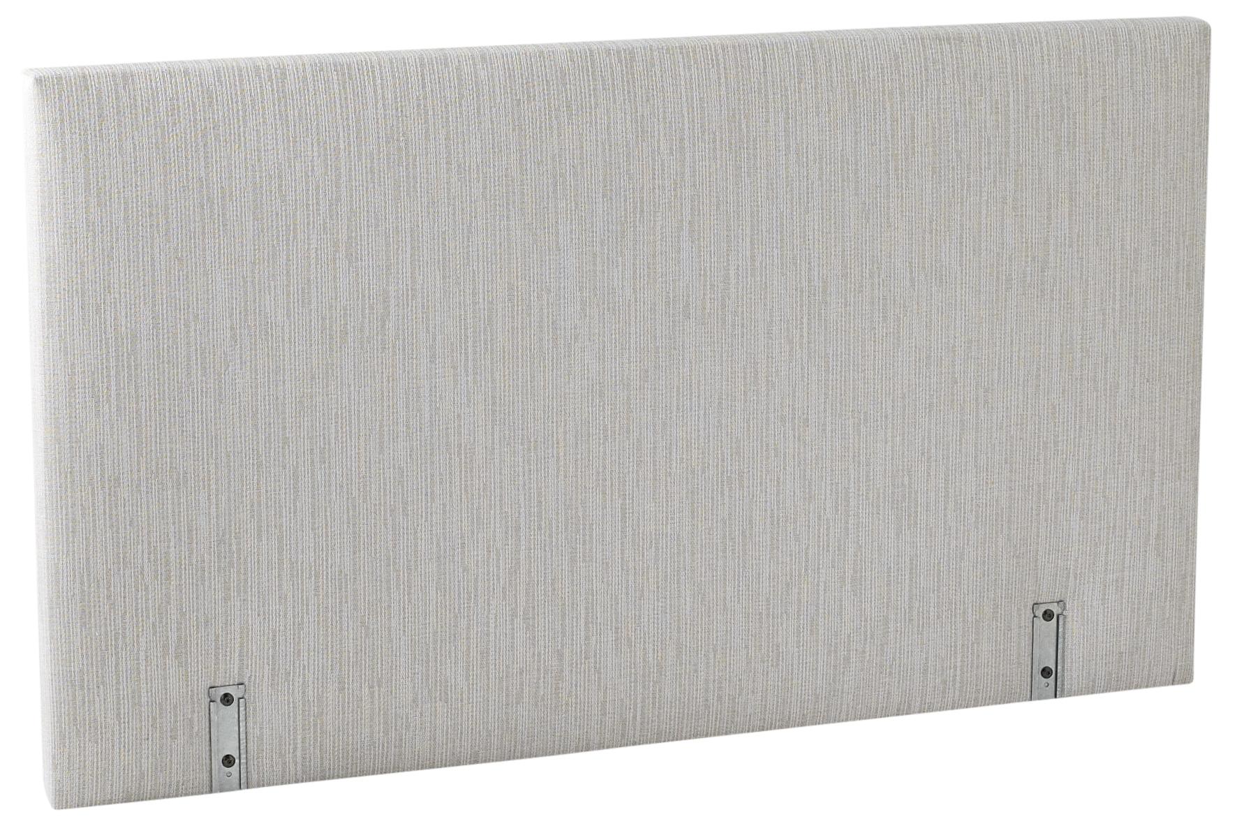 Dosserêt 140 cm Tissu gris clair Relaxima  LesTendancesfr