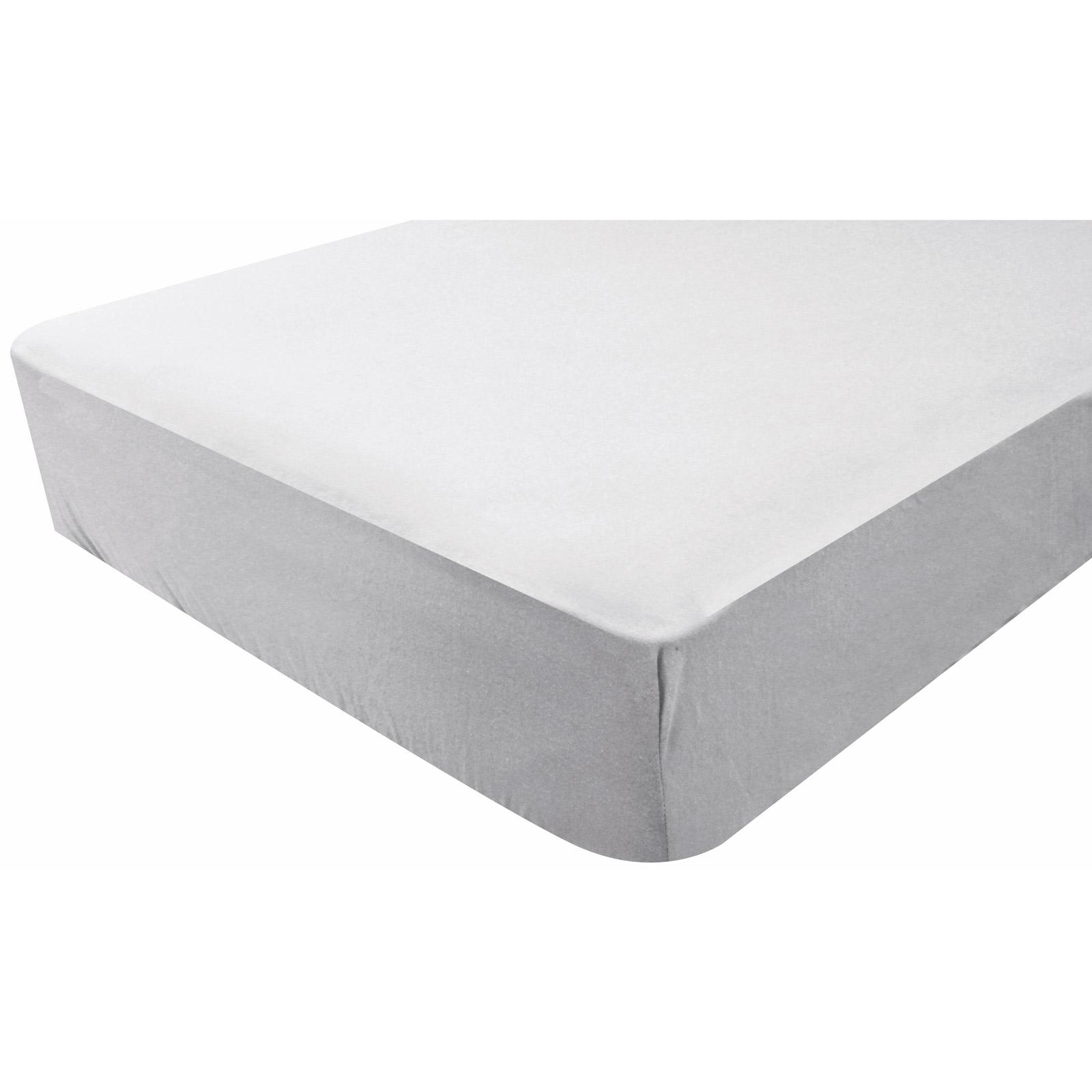 Les tendances drap housse imperm able gris perle doux for Housse impermeable
