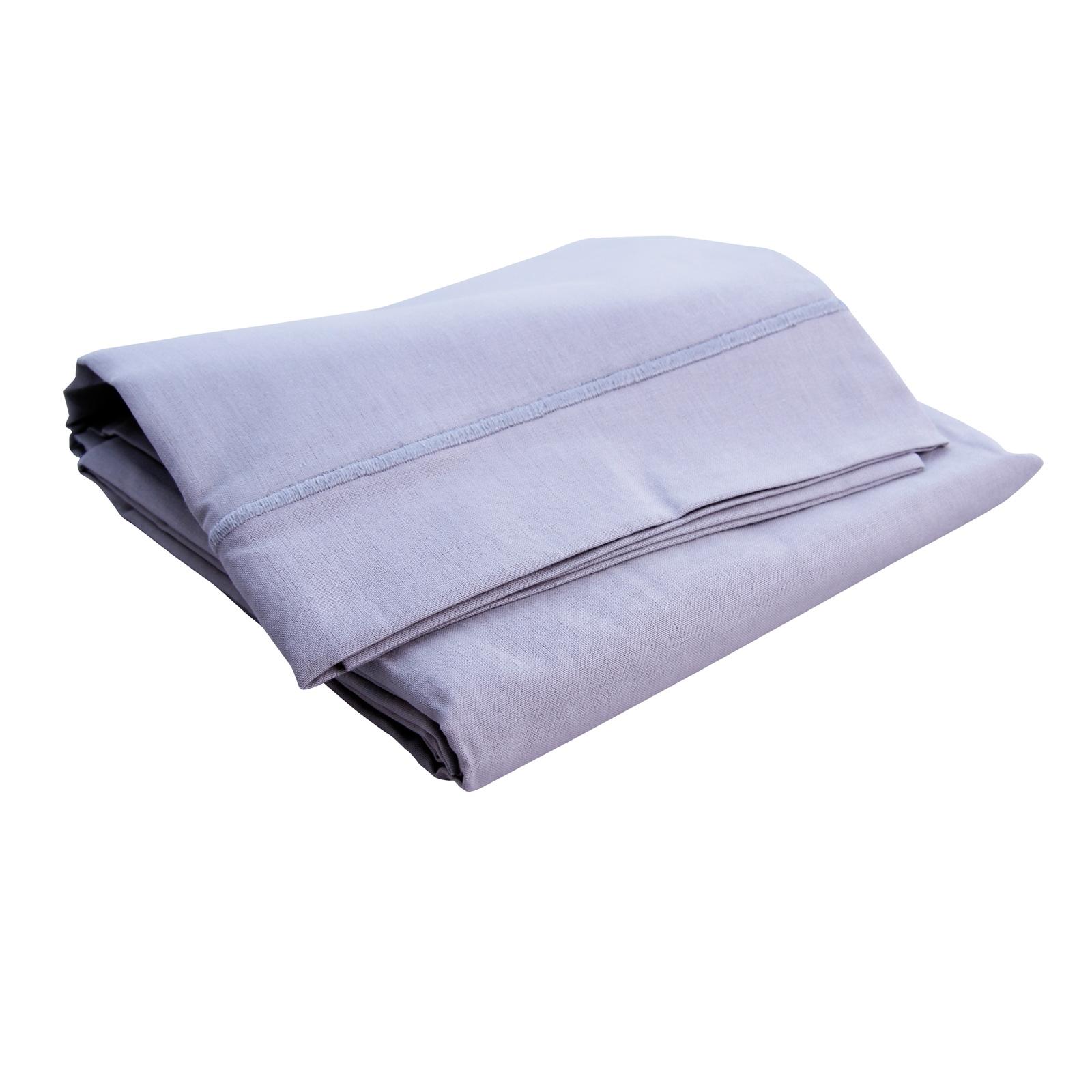 drap plat gris perle doux nid mod le 120x180 cm. Black Bedroom Furniture Sets. Home Design Ideas