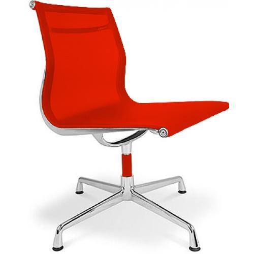 Les tendances chaise de bureau design tissu rouge kusk for Charles eames chaise bureau