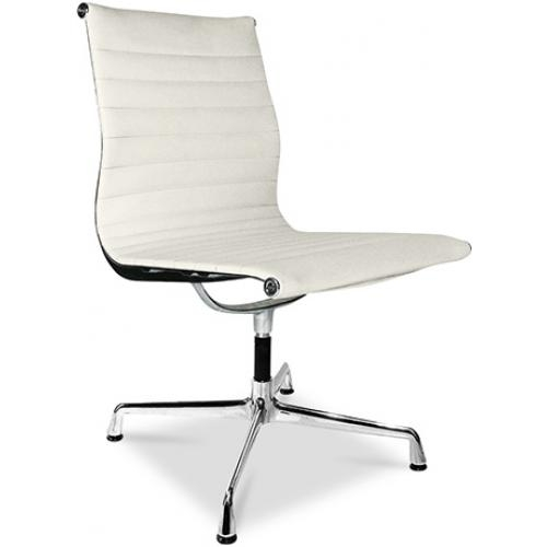 chaise de bureau moderne simili beige busk. Black Bedroom Furniture Sets. Home Design Ideas