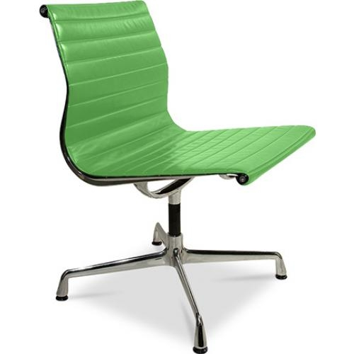 chaise de bureau moderne simili vert busk. Black Bedroom Furniture Sets. Home Design Ideas