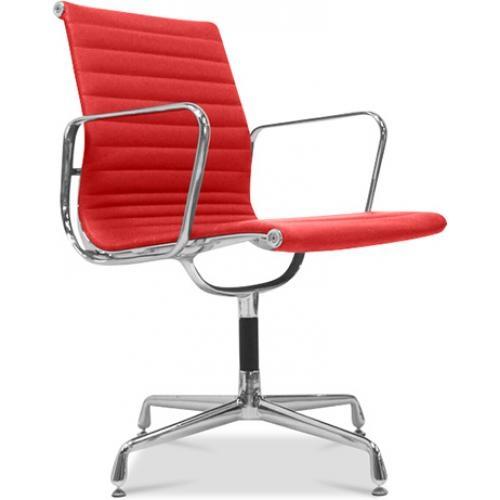 fauteuil de bureau design cuir rouge musk. Black Bedroom Furniture Sets. Home Design Ideas