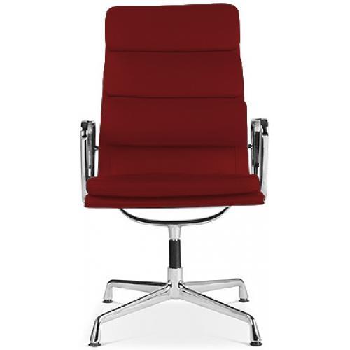 fauteuil de bureau raffin cuir bordeaux moggy. Black Bedroom Furniture Sets. Home Design Ideas