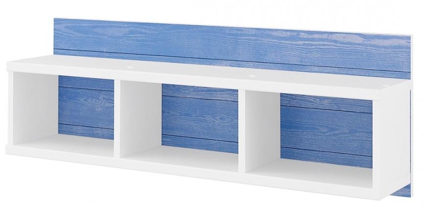 etag re murale blanc et bleu marin. Black Bedroom Furniture Sets. Home Design Ideas