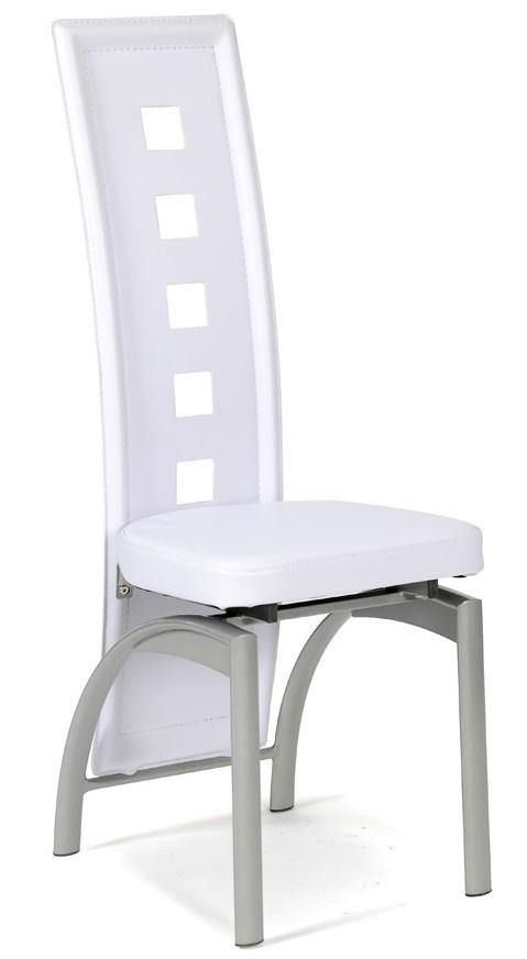 Chaise moderne blanche eva lot de 4 - Chaise moderne blanche ...