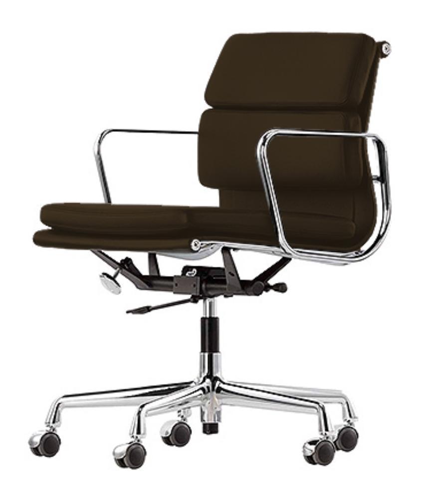 fauteuil de bureau design cuir marron k9. Black Bedroom Furniture Sets. Home Design Ideas