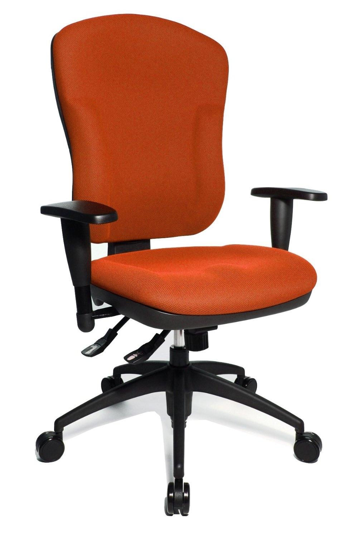 fauteuil de bureau orange wellpoint 30 topstar 8060kbc4. Black Bedroom Furniture Sets. Home Design Ideas