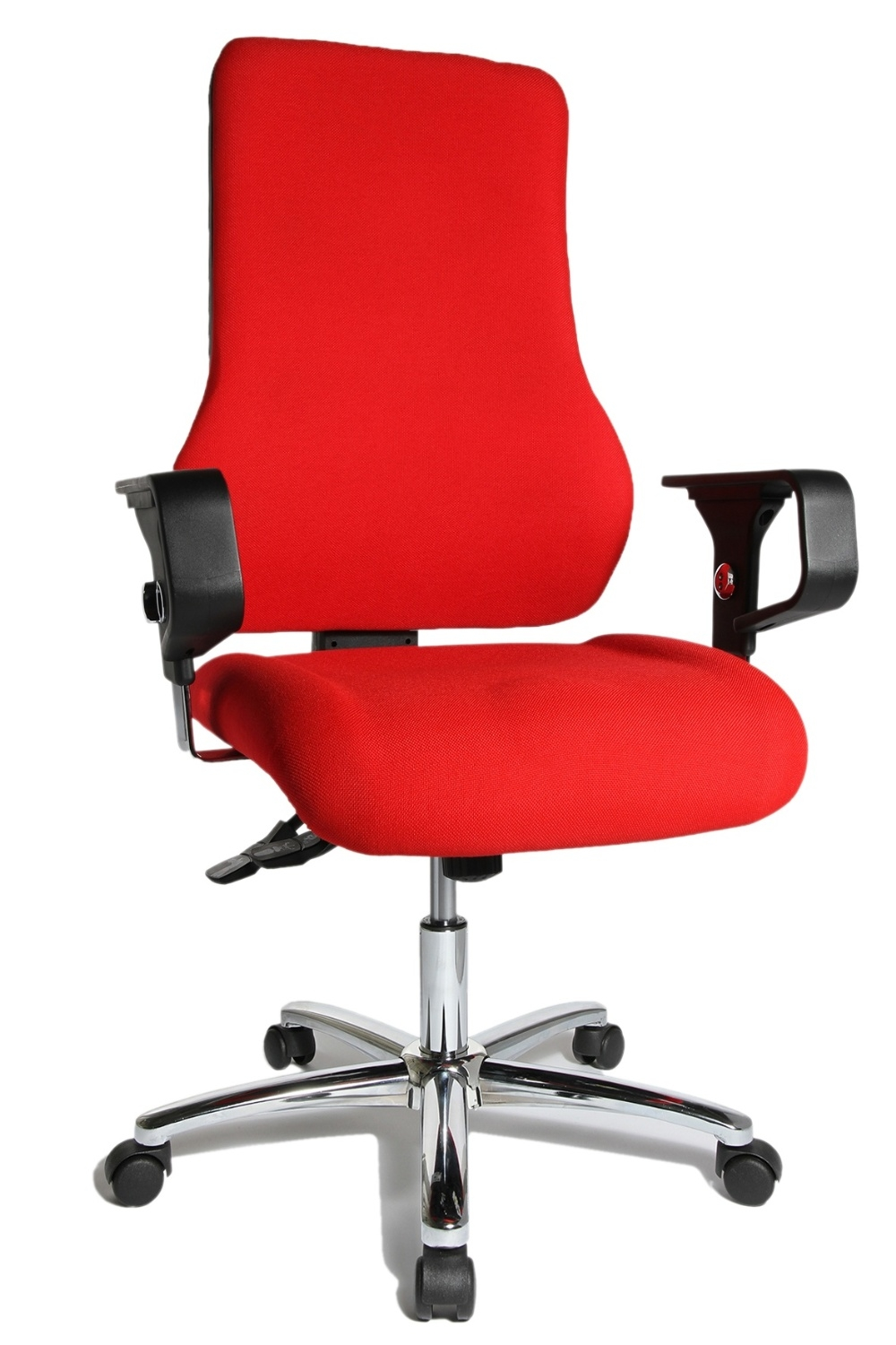 fauteuil de bureau rouge top point sy