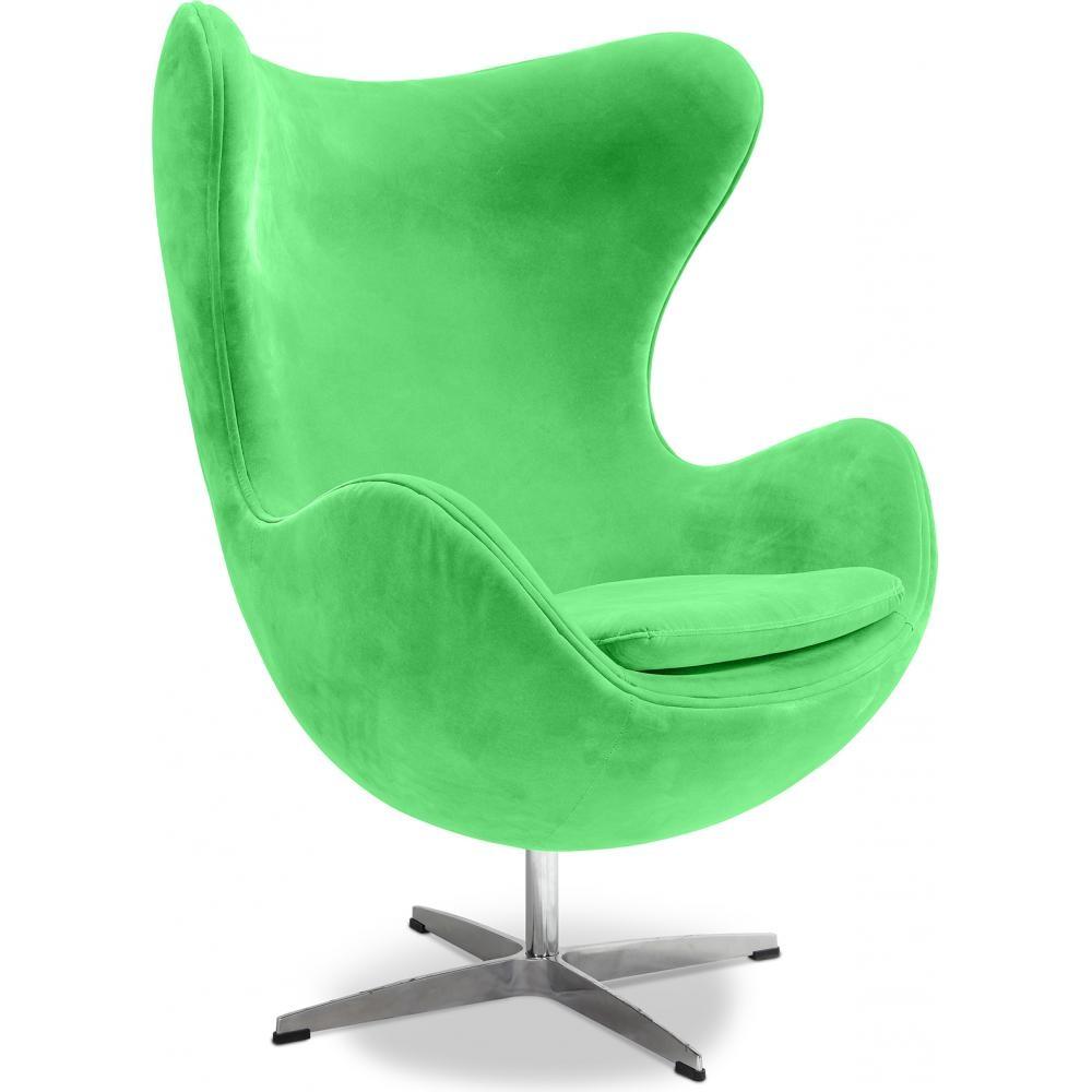 fauteuil tissu vert ego. Black Bedroom Furniture Sets. Home Design Ideas