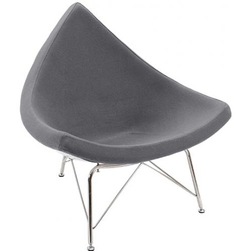 fauteuil fibre de verre assise cachemire triangle. Black Bedroom Furniture Sets. Home Design Ideas