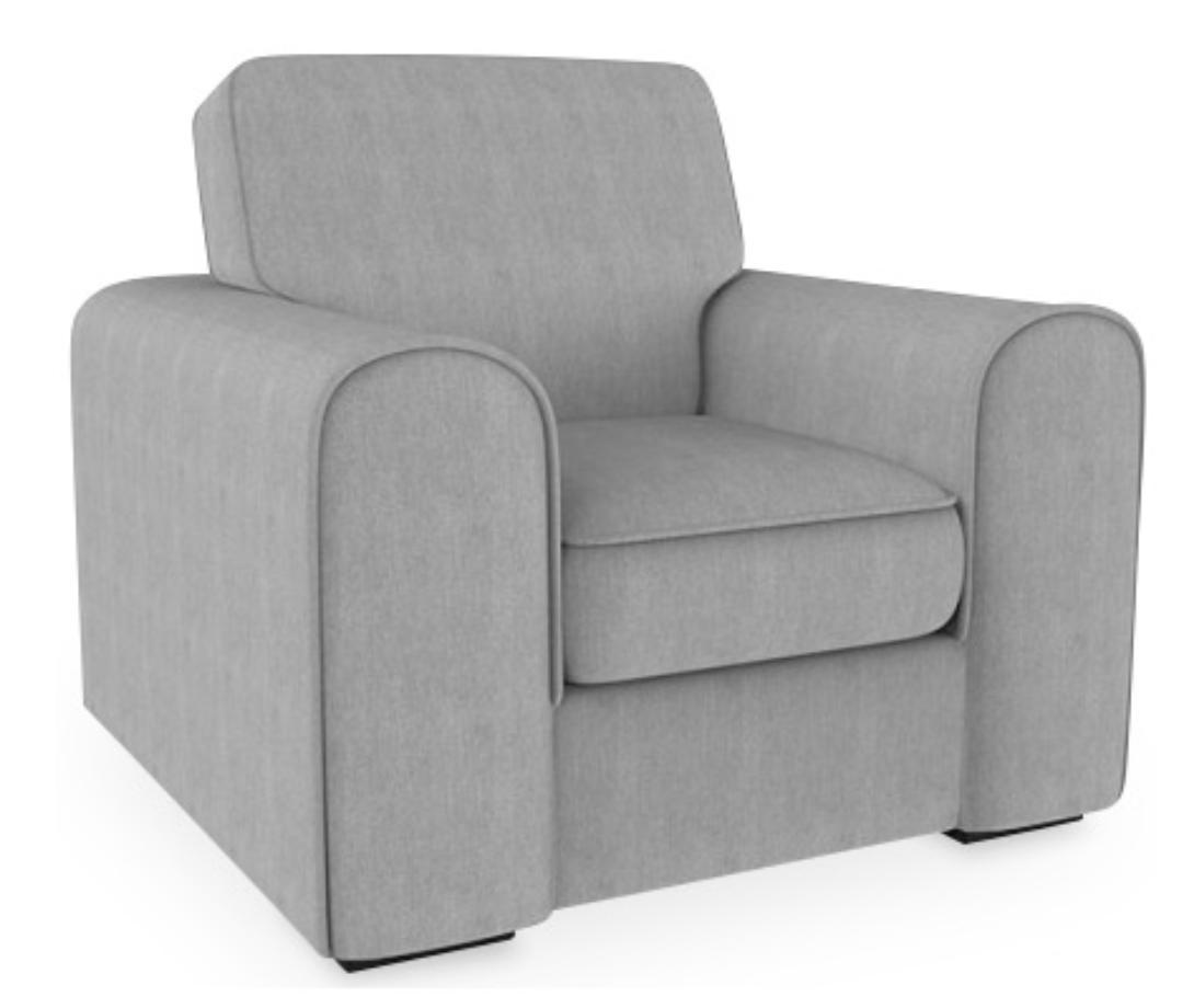 fauteuil haut dossier tissu lin gris clair kun. Black Bedroom Furniture Sets. Home Design Ideas