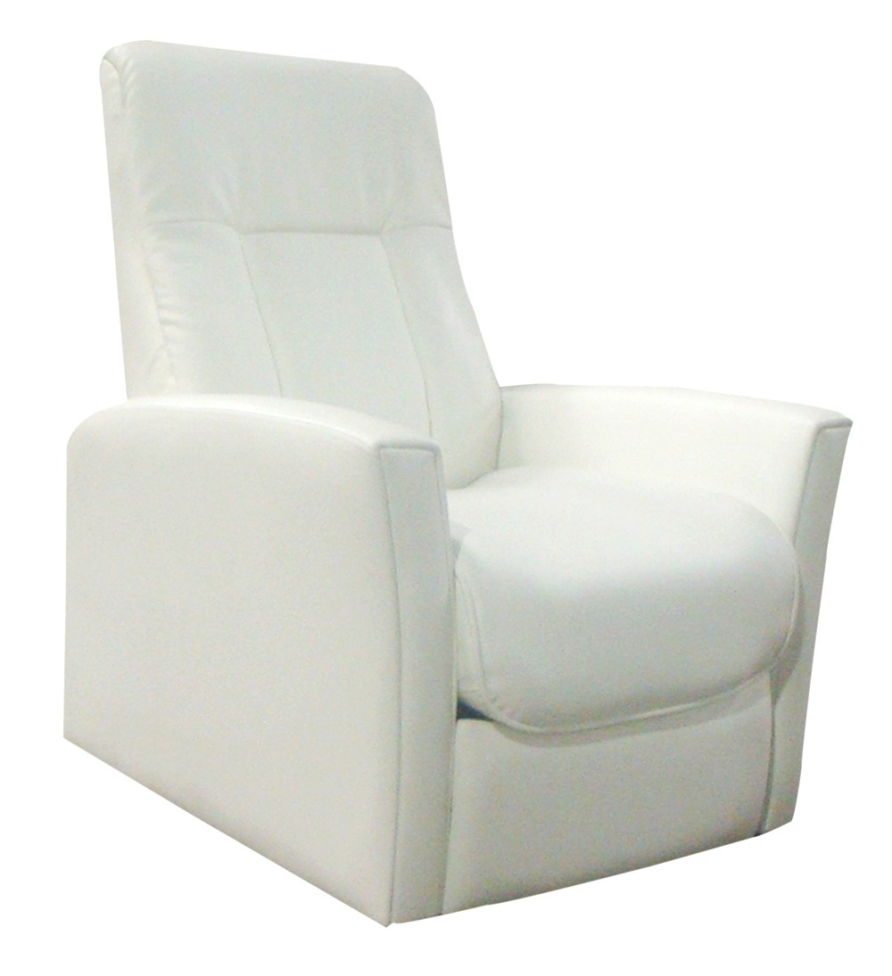 fauteuil relax simili cuir blanc relaxo. Black Bedroom Furniture Sets. Home Design Ideas
