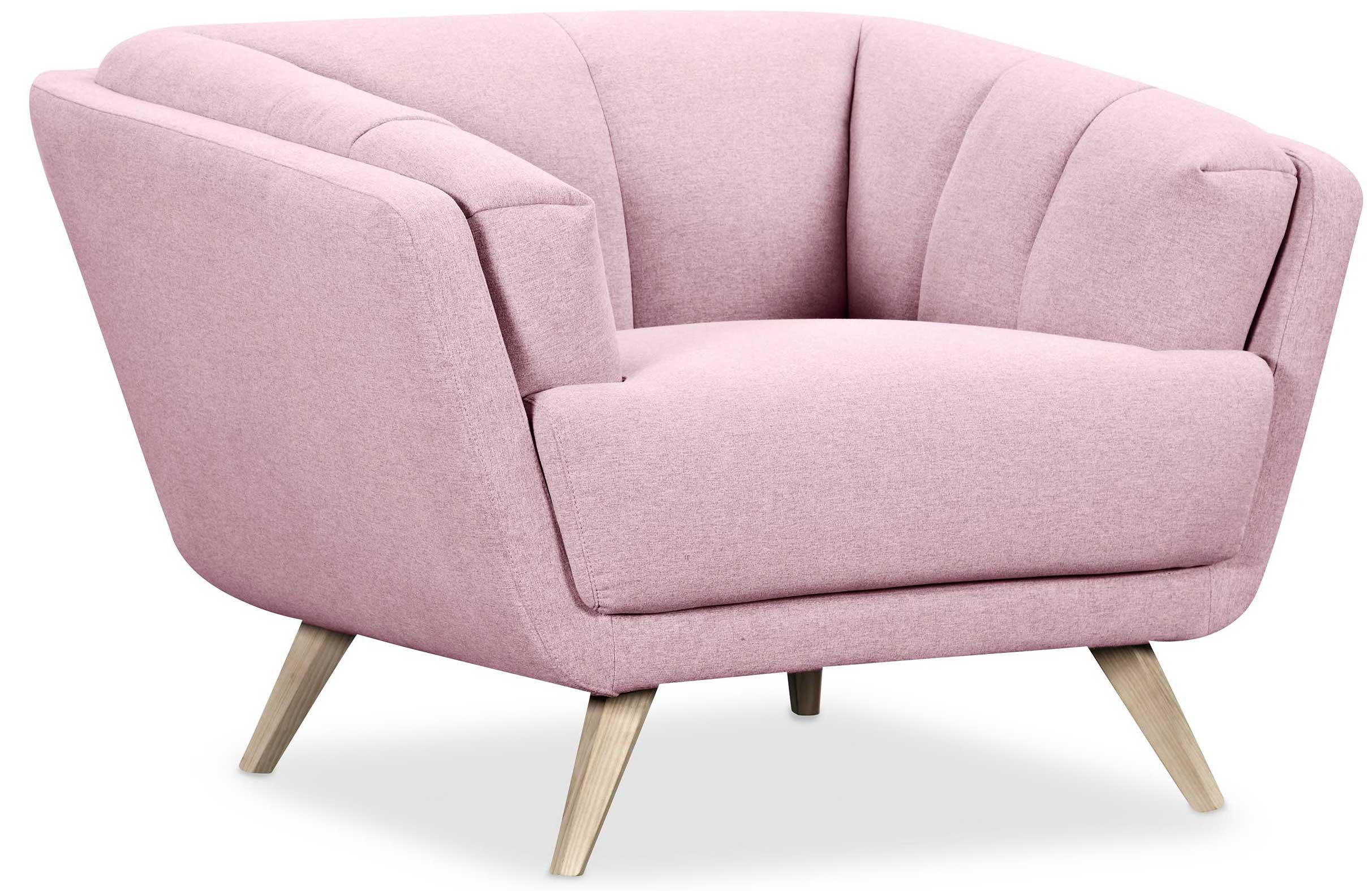 fauteuil crapaud rose pastel awesome meuble nordique fauteuil crapaud tissu rose cm pastel with. Black Bedroom Furniture Sets. Home Design Ideas