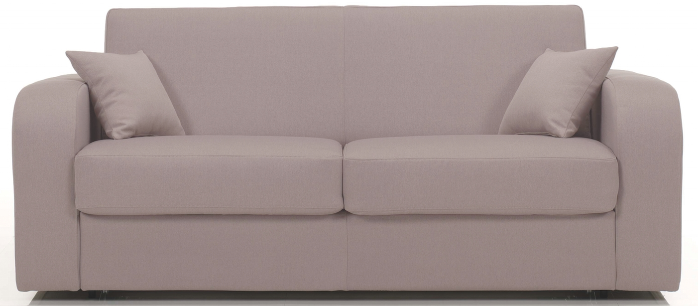 Canap convertible microfibre taupe pablo - Canape microfibre taupe ...