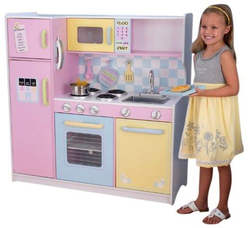 Grande cuisine pastel kidkraft 53181 for Cuisine kidkraft avis
