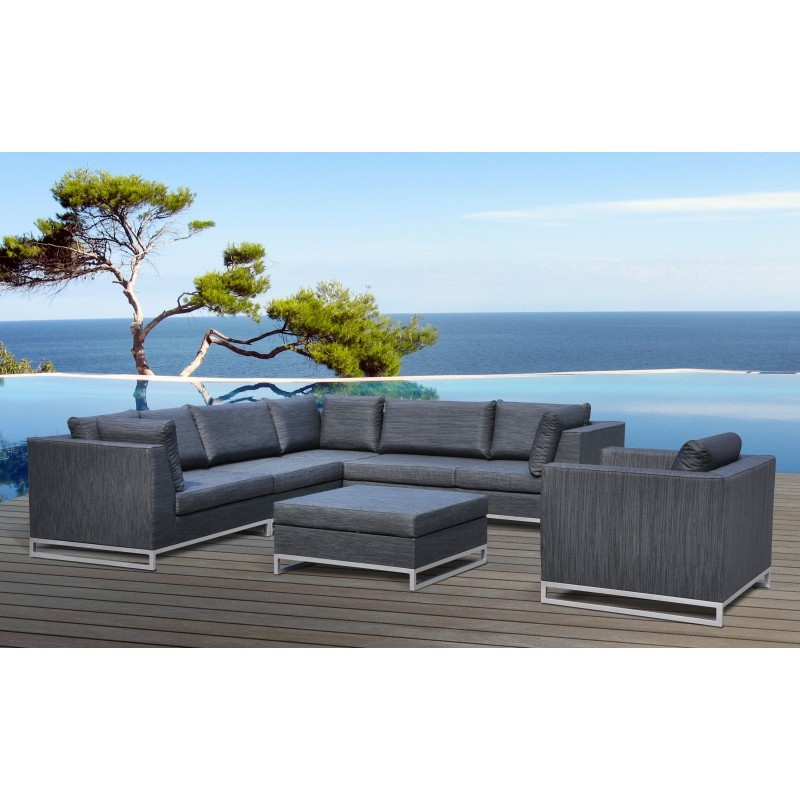 salon de jardin tissu haut de gamme miami. Black Bedroom Furniture Sets. Home Design Ideas