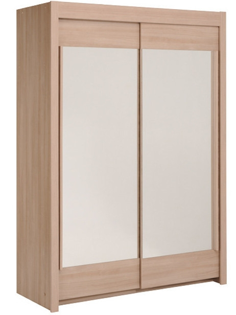 armoire bruges 2 portes coulissantes 180 cm quadro. Black Bedroom Furniture Sets. Home Design Ideas