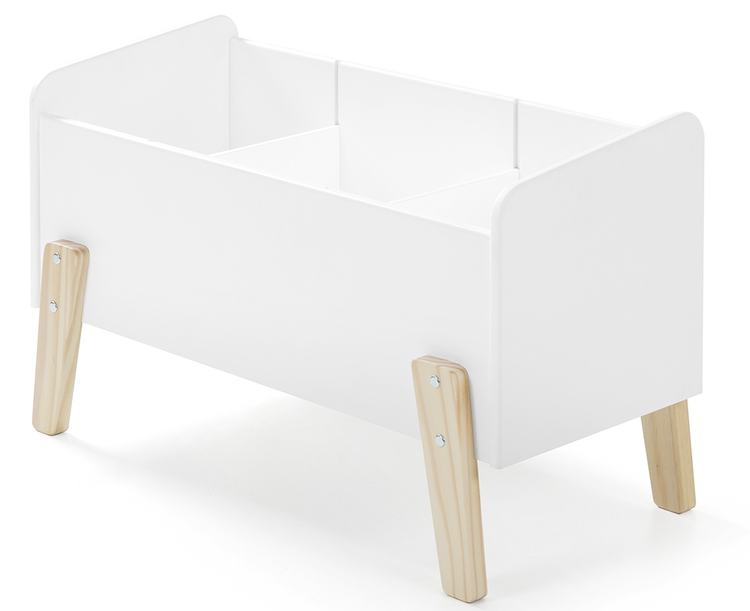 coffre jouets blanc scandinave. Black Bedroom Furniture Sets. Home Design Ideas