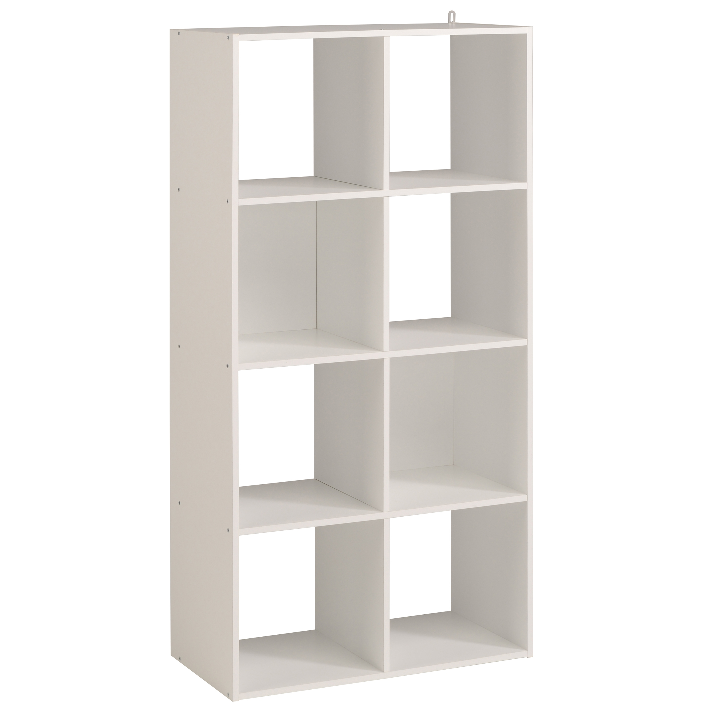 Rangement 8 cases blanc kaza for Meuble 6 cases