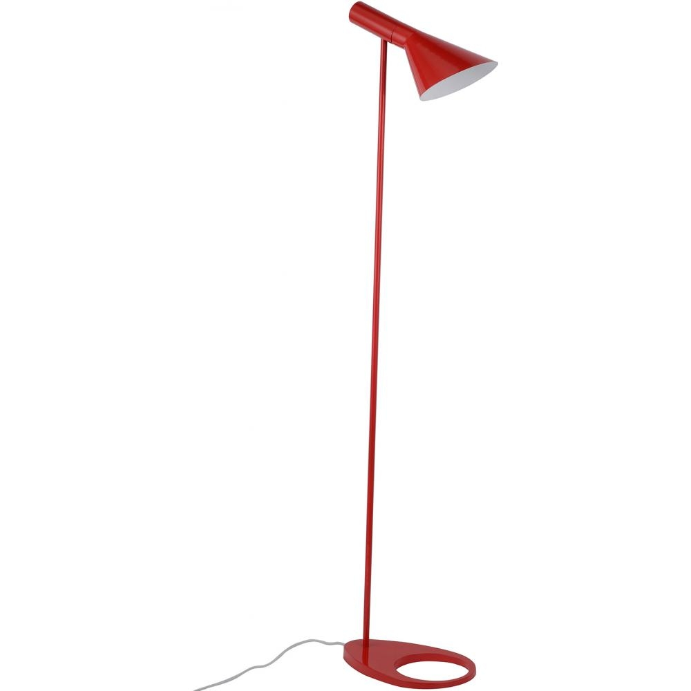 lampadaire rouge inspir floor arne jacobsen. Black Bedroom Furniture Sets. Home Design Ideas