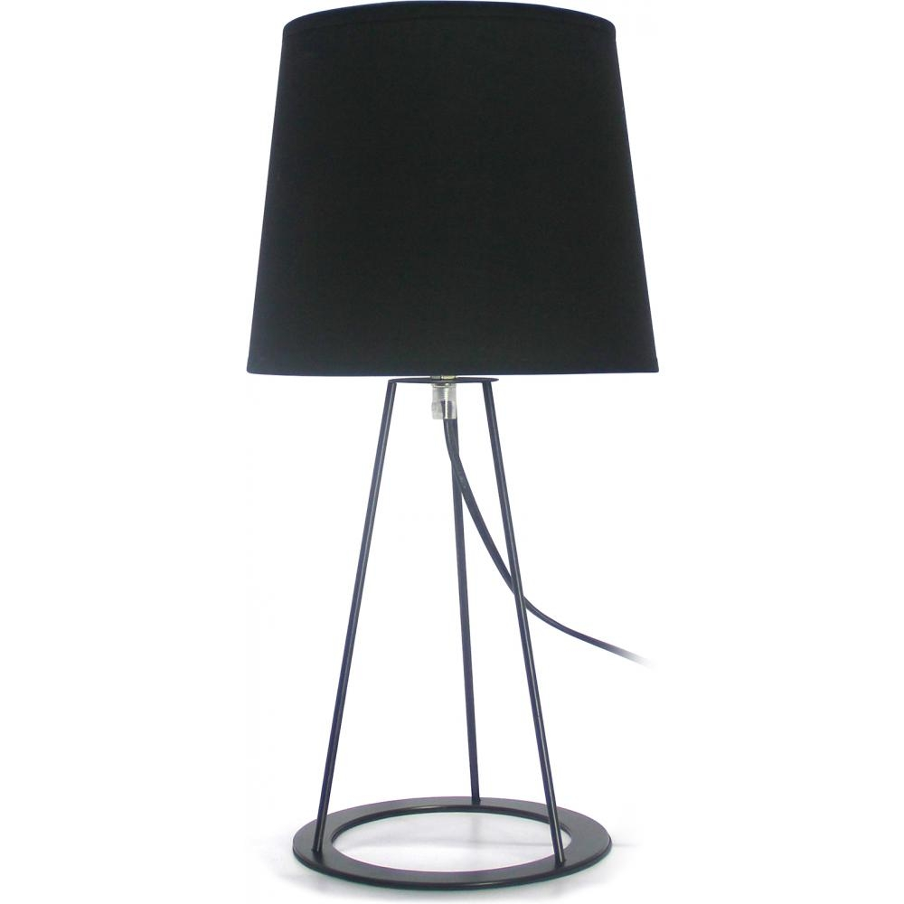 lampe poser noire done. Black Bedroom Furniture Sets. Home Design Ideas