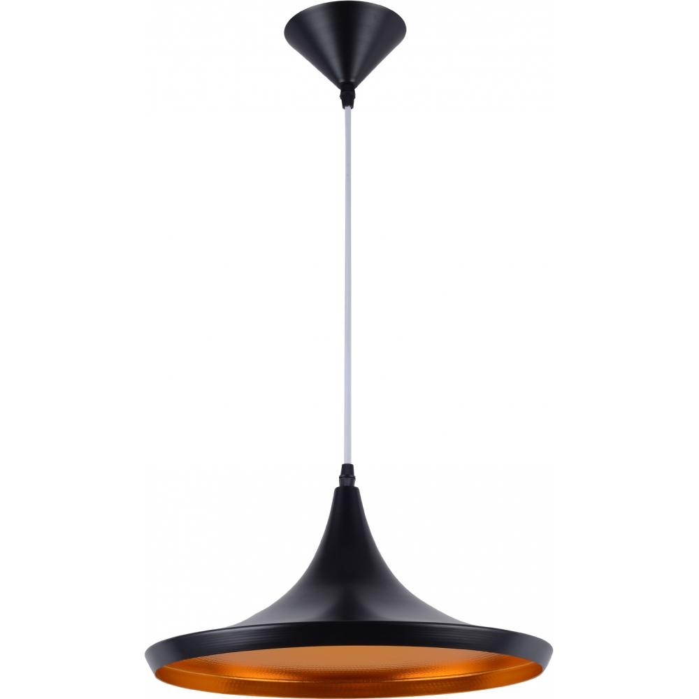 Lampe suspension noire luna for Lampe suspension noire