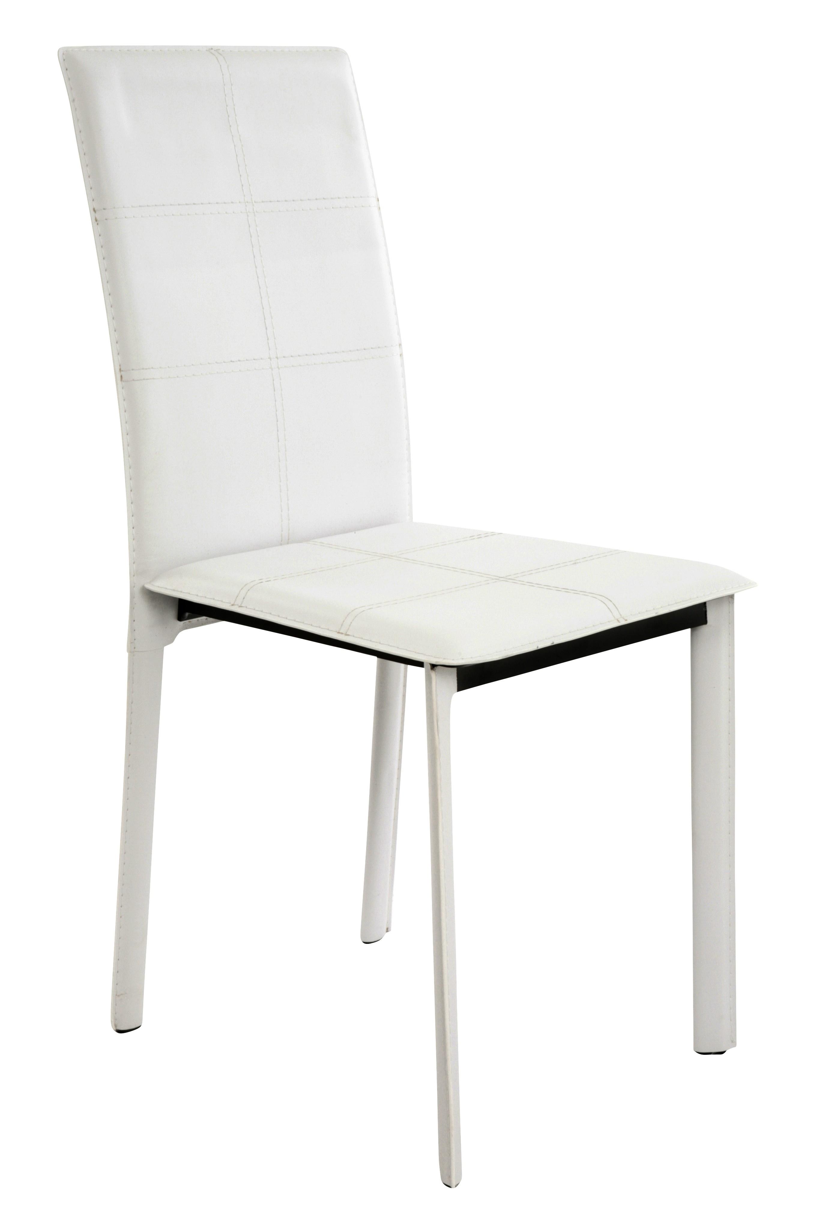 chaise pvc blanc games. Black Bedroom Furniture Sets. Home Design Ideas