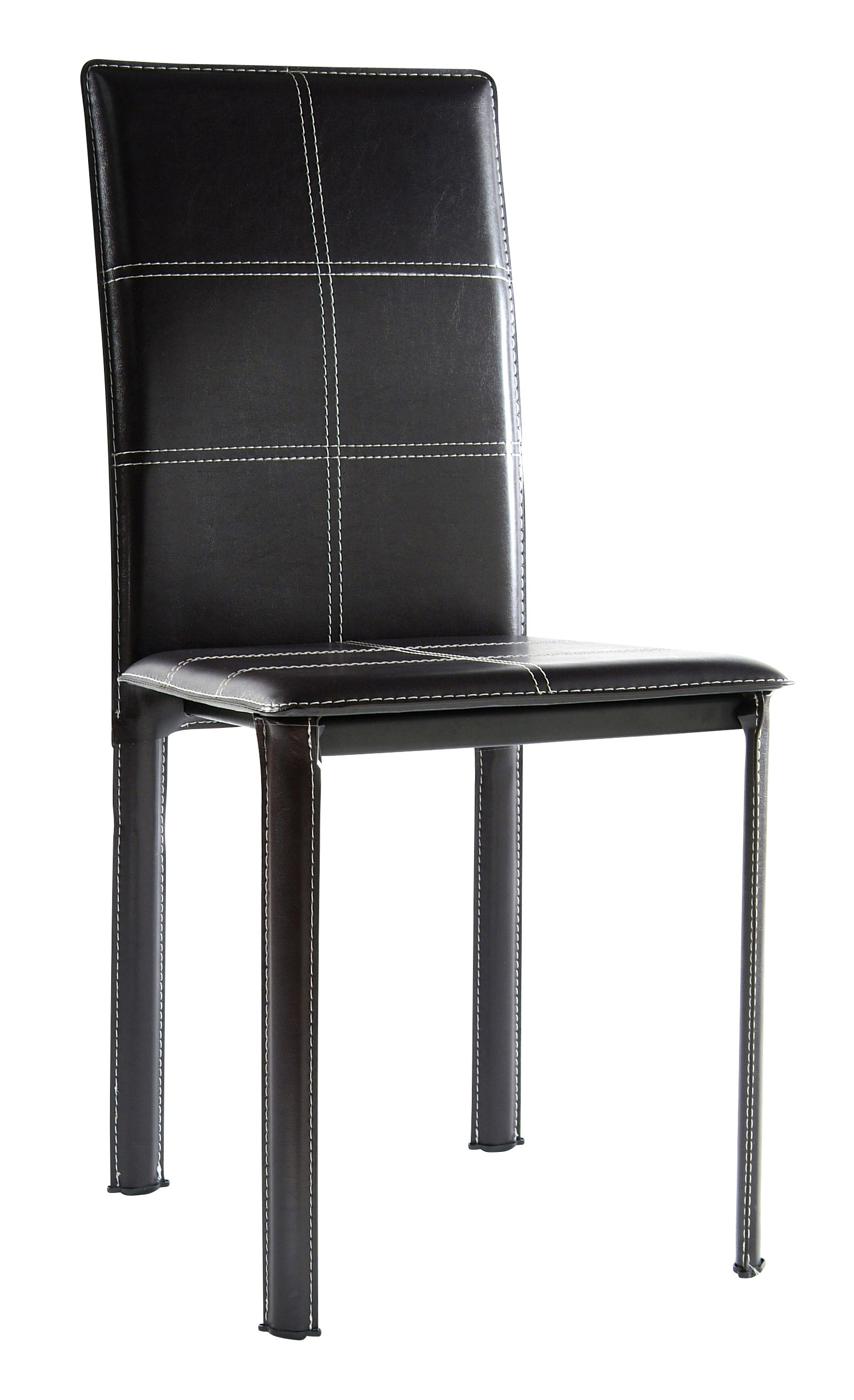chaise pvc marron games. Black Bedroom Furniture Sets. Home Design Ideas