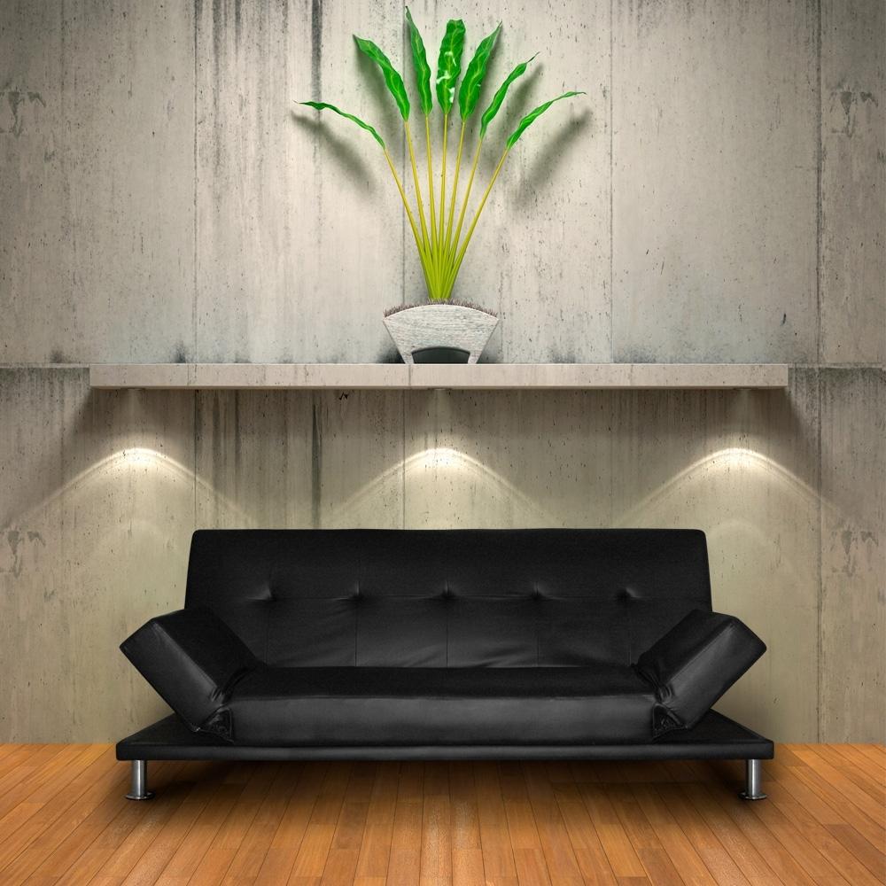 canap convertible june couleur noir. Black Bedroom Furniture Sets. Home Design Ideas