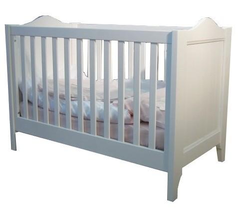 lit b b transformable laqu blanc tilleul 70x140cm. Black Bedroom Furniture Sets. Home Design Ideas