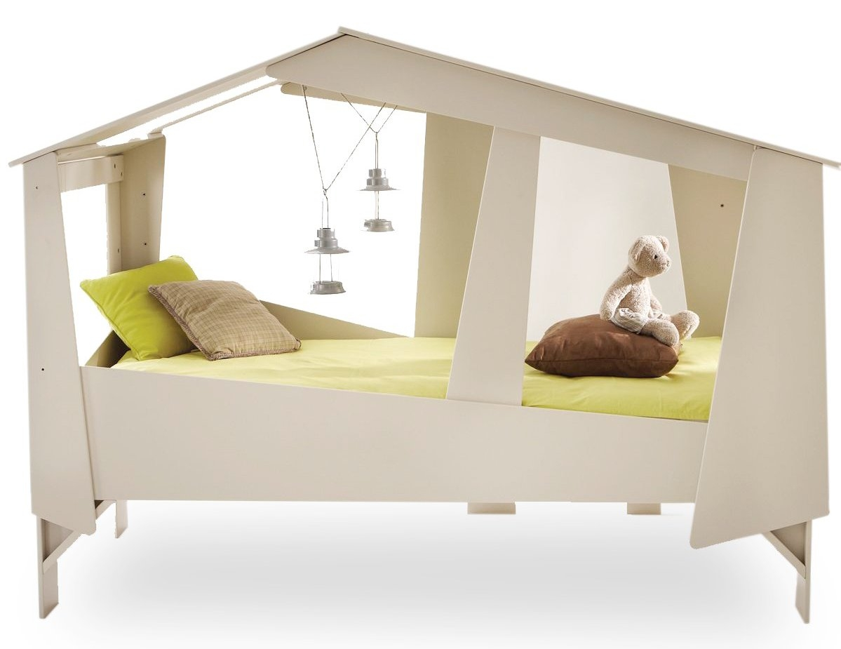 Lit enfant cabane for Photo lit enfant
