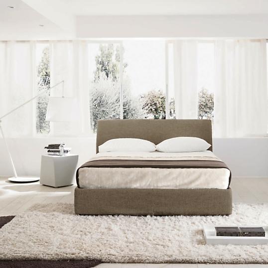 lit coffre tissu taupe key. Black Bedroom Furniture Sets. Home Design Ideas