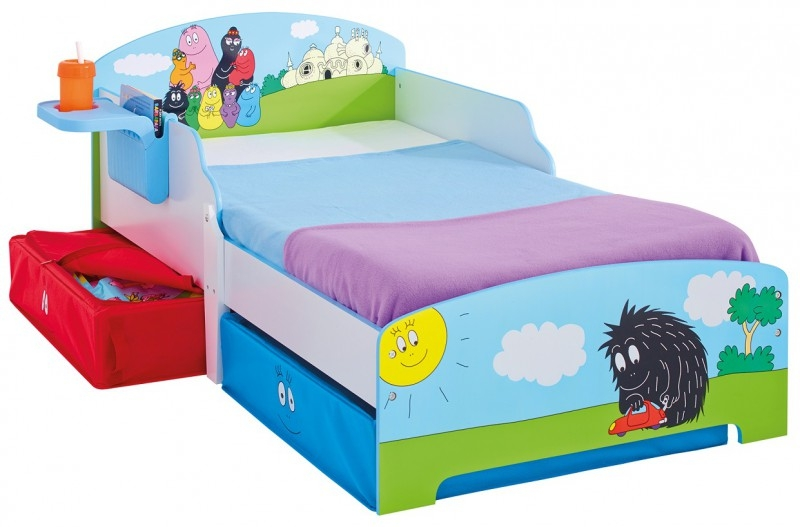 lit enfant barbapapa avec tiroirs. Black Bedroom Furniture Sets. Home Design Ideas