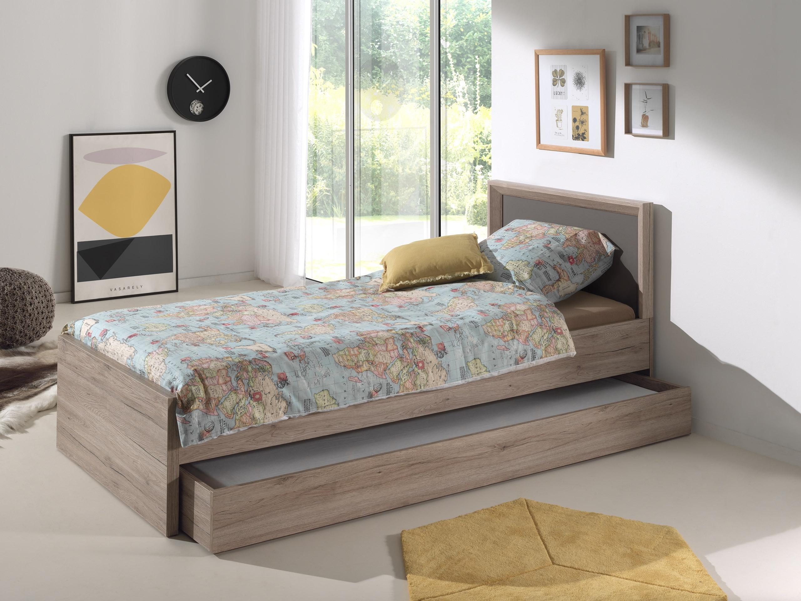 lit enfant bois naturel foresta. Black Bedroom Furniture Sets. Home Design Ideas