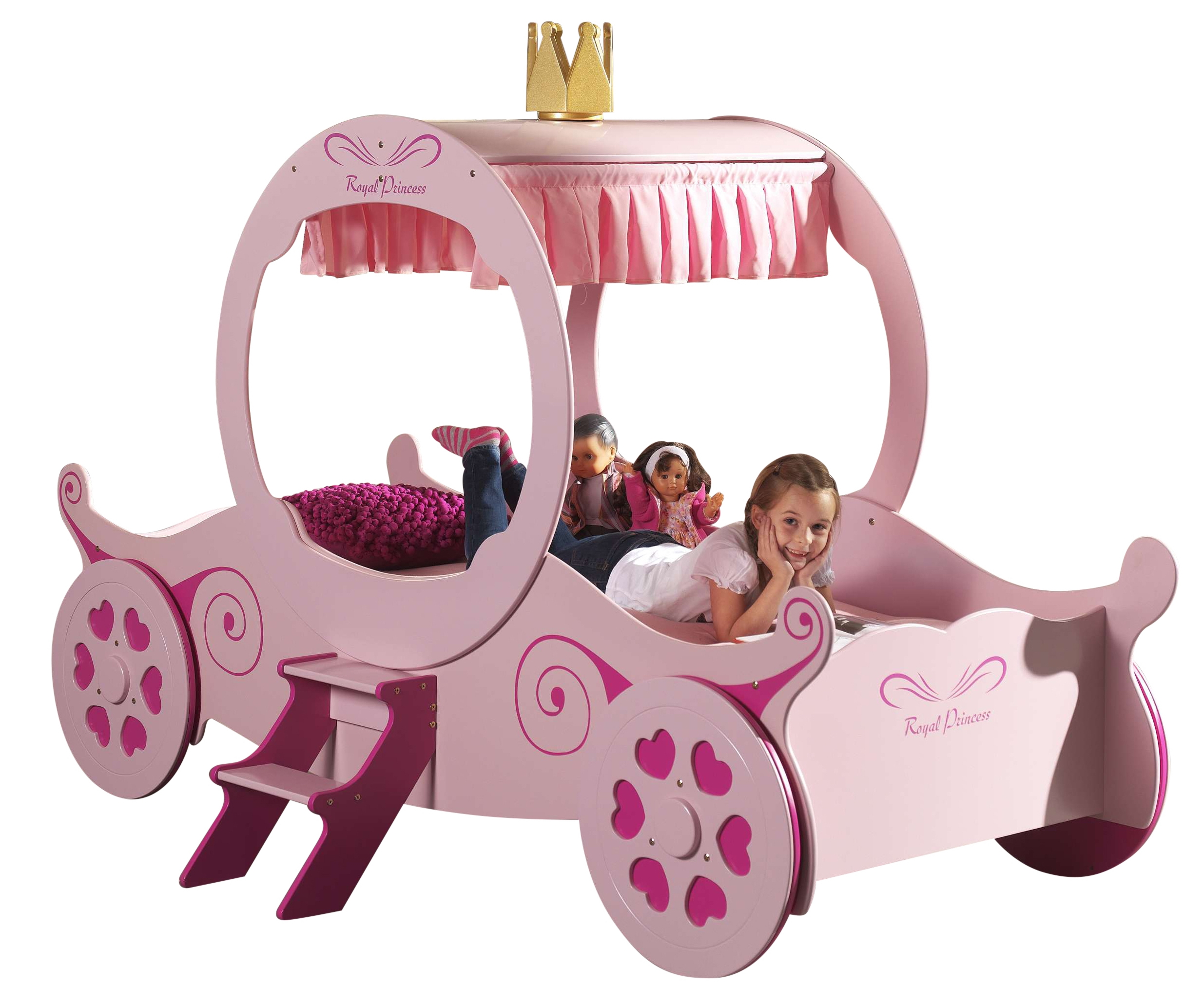 lit enfant carrosse cendrillon. Black Bedroom Furniture Sets. Home Design Ideas