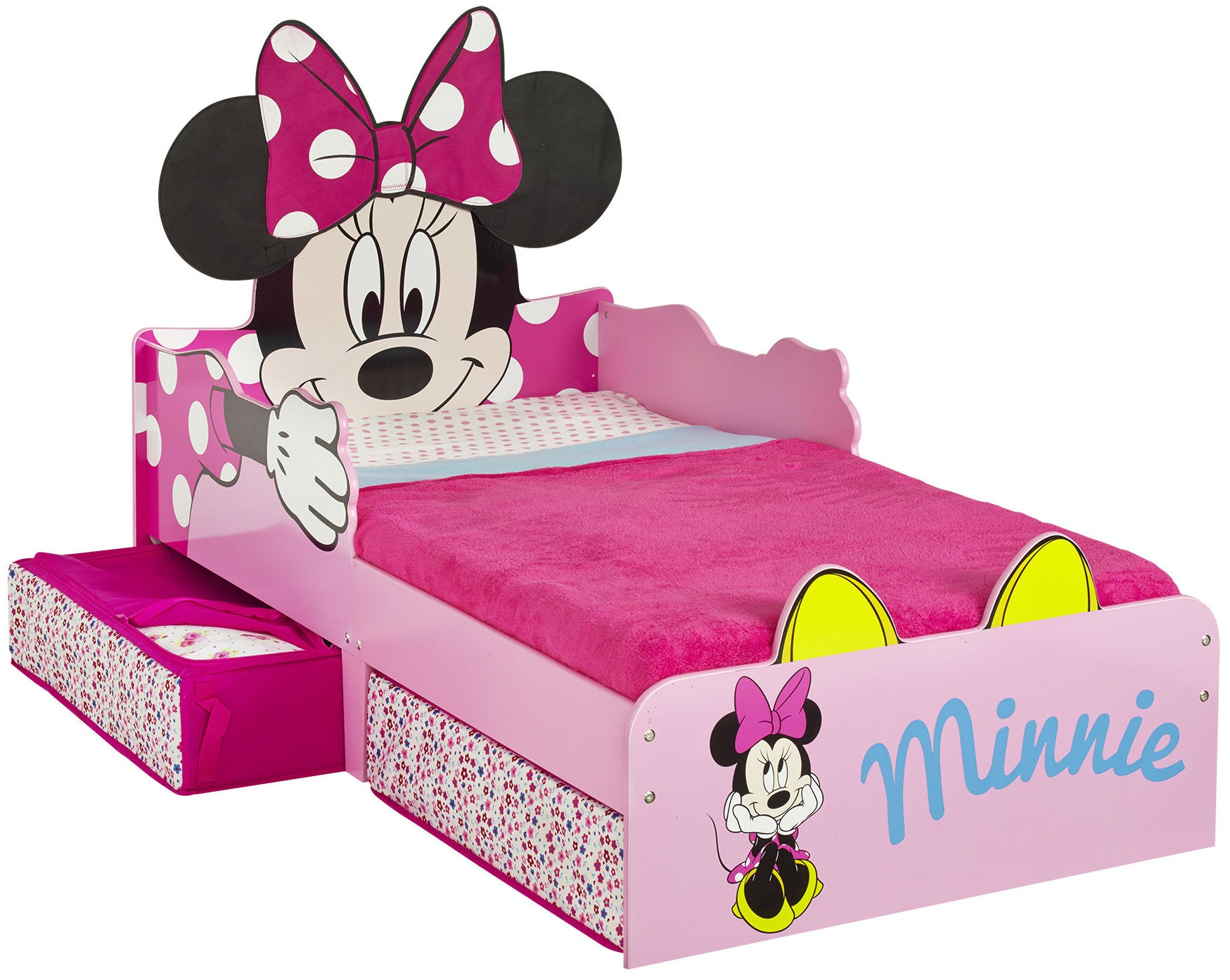 lit tiroirs minnie. Black Bedroom Furniture Sets. Home Design Ideas
