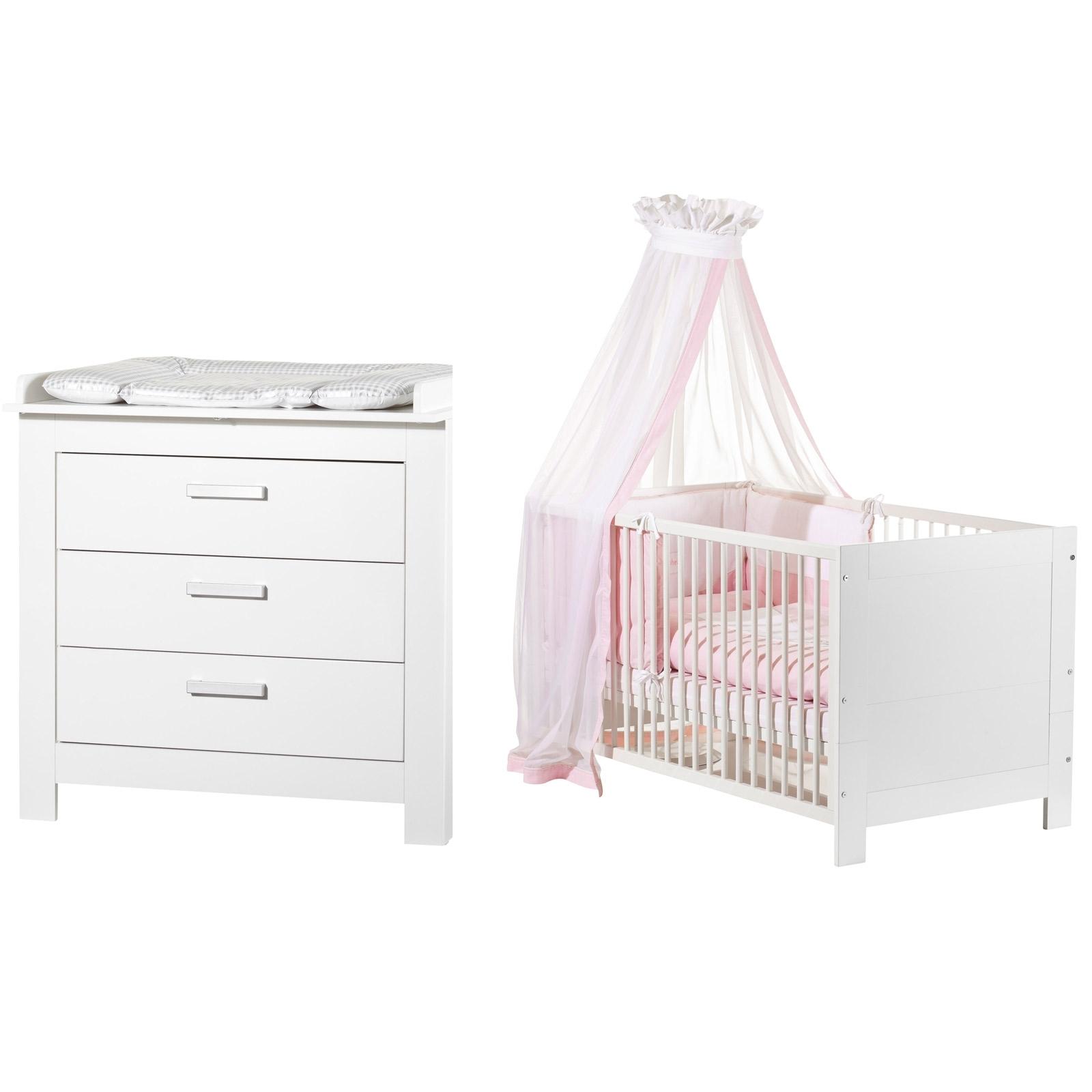 lit volutif et commode langer blanc marlene. Black Bedroom Furniture Sets. Home Design Ideas