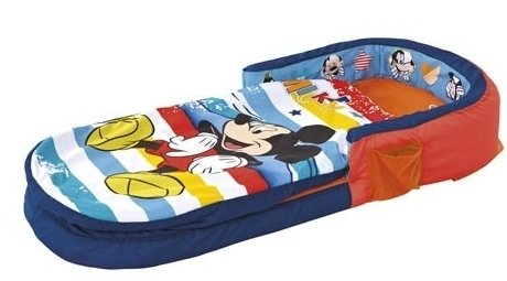 lit gonflable mickey disney. Black Bedroom Furniture Sets. Home Design Ideas