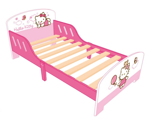 les tendances lit hello kitty 70 x 140 cm. Black Bedroom Furniture Sets. Home Design Ideas