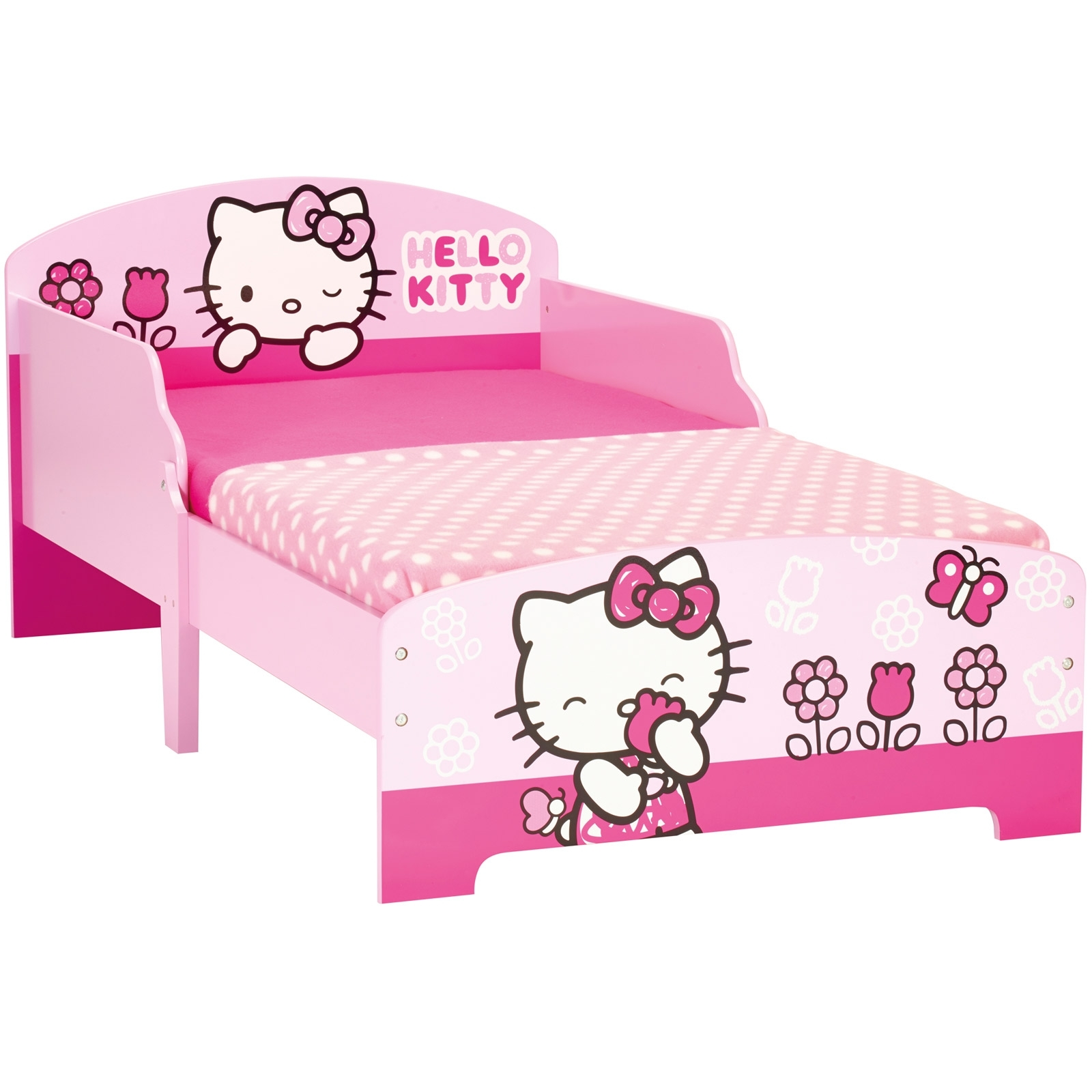 lit hello kitty bed cosy. Black Bedroom Furniture Sets. Home Design Ideas