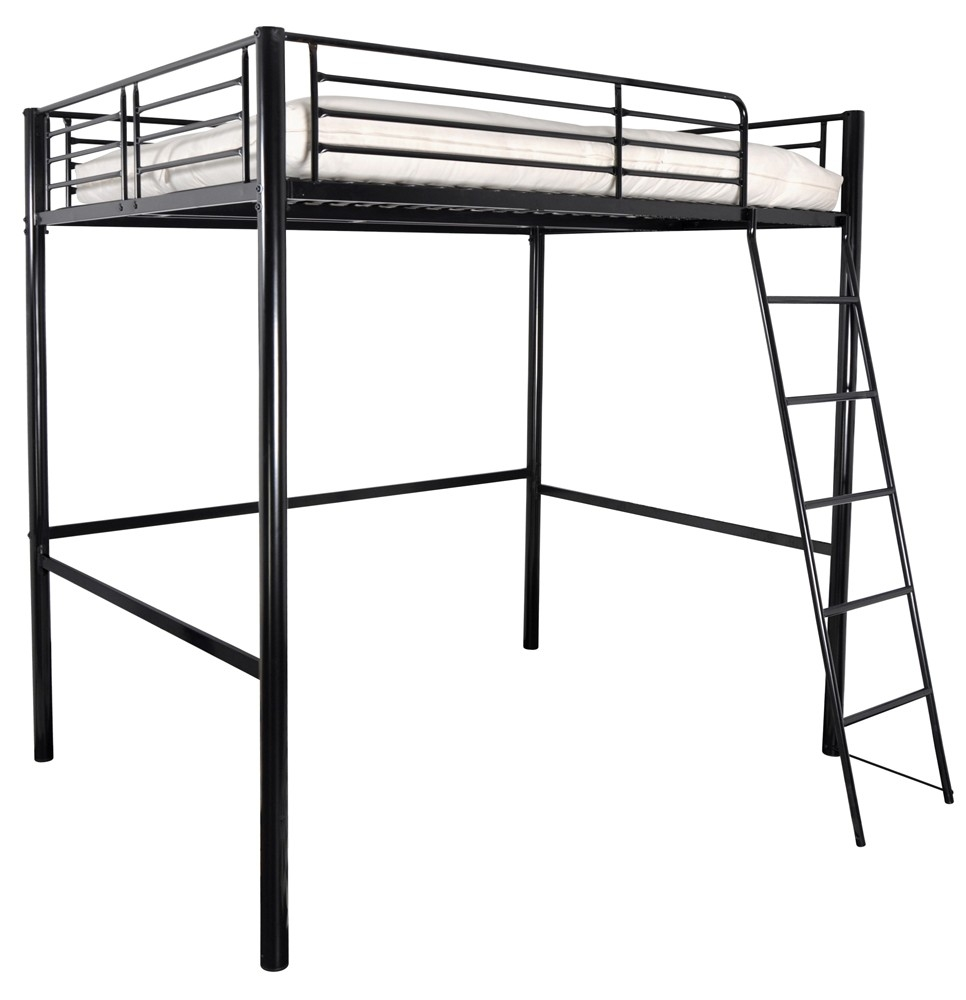 lit mezzanine metal. Black Bedroom Furniture Sets. Home Design Ideas