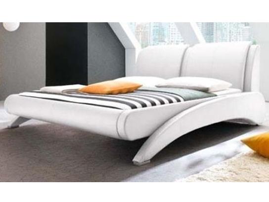 lit moderne slani blanc 160. Black Bedroom Furniture Sets. Home Design Ideas