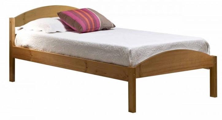 lit pin massif naturel maximus 90x190 cm. Black Bedroom Furniture Sets. Home Design Ideas