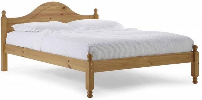 lit pin massif naturel veresi 140x190 cm. Black Bedroom Furniture Sets. Home Design Ideas