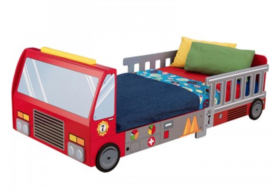 lit pompier kidkraft 76031. Black Bedroom Furniture Sets. Home Design Ideas