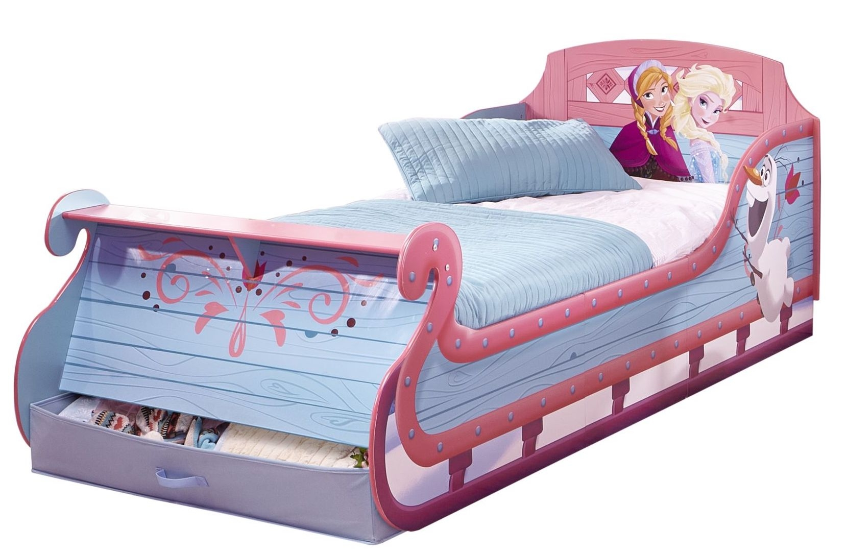 lit reine des neiges 90x190 cm. Black Bedroom Furniture Sets. Home Design Ideas
