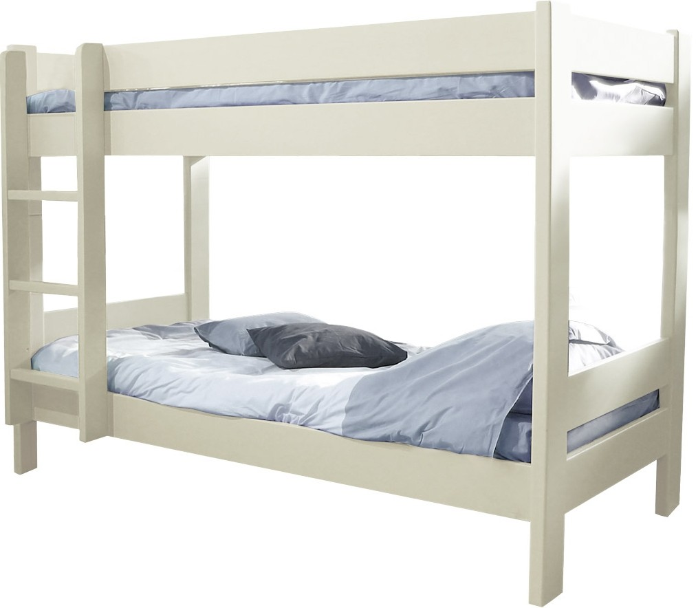 lit superpos h149 indissociable laqu beige dominique 80. Black Bedroom Furniture Sets. Home Design Ideas